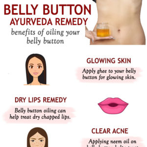 Oiling The Belly Button To Treat Health And Beauty Problems