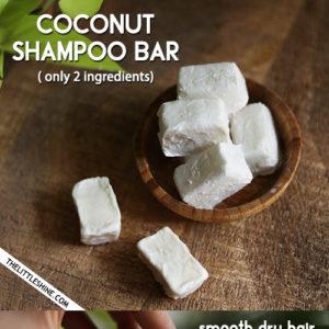 COCONUT SHAMPOO BARS