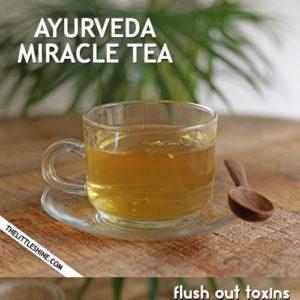 Ayurvedic Miracle CCF Tea with Three Ingredients