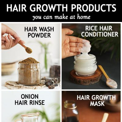 BEST HAIR GROWTH PRODUCTS YOU CAN MAKE AT HOME