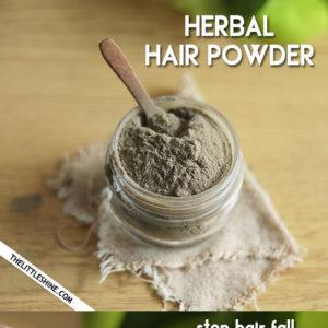 HERBAL HAIR POWDER to stop hair fall