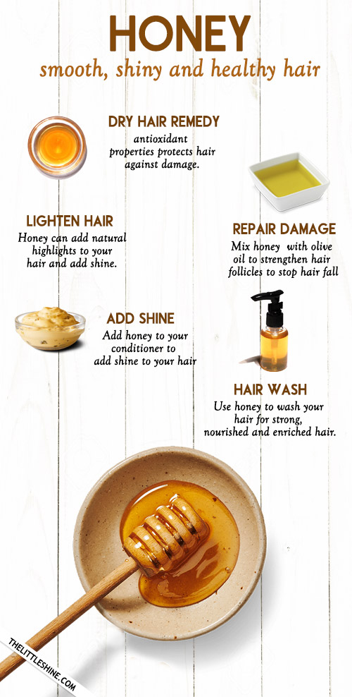 WAYS TO USE HONEY FOR SMOOTH, SHINY AND GORGEOUS HAIR