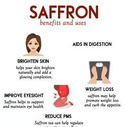SAFFRON - benefits for health and beauty and ways to use