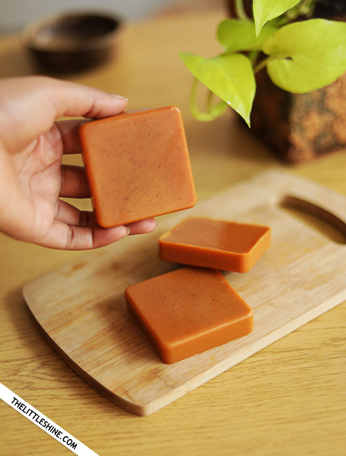 TURMERIC SOAP - skin brightening and clearing