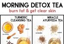 MORNING DETOX TEA RECIPES