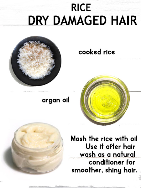 rice hair conditioner