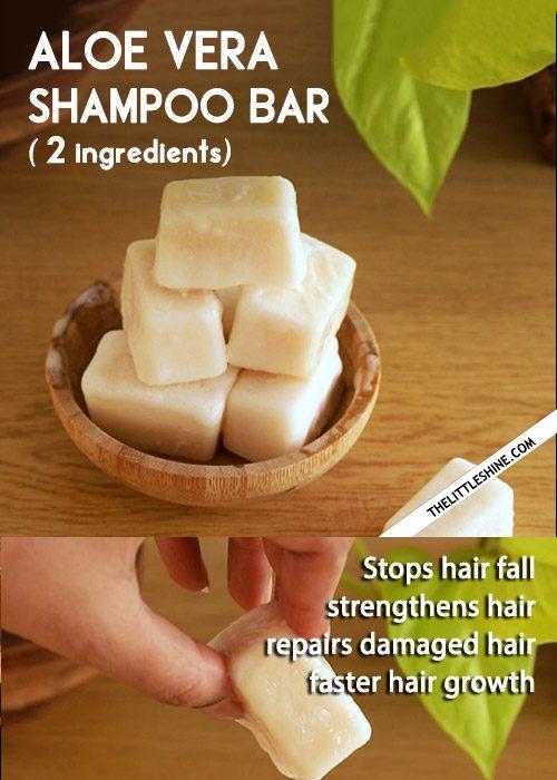 Aloe shampoo bar