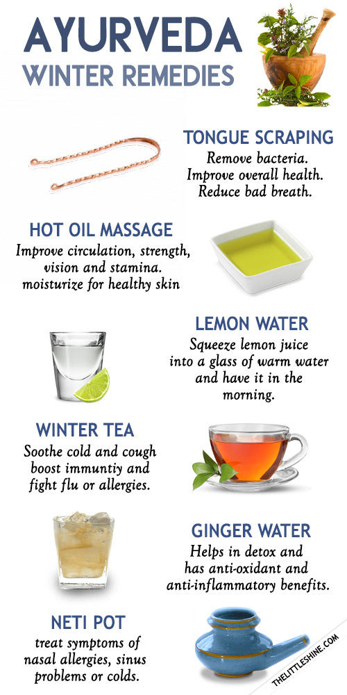 Simple Ayurveda Winter Remedies That You Can Follow Everyday