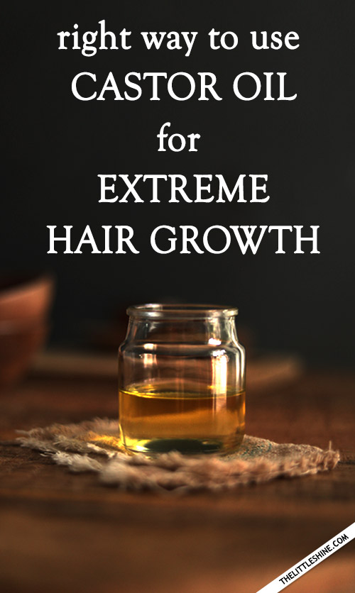 How to use castor oil for thicker hair growth