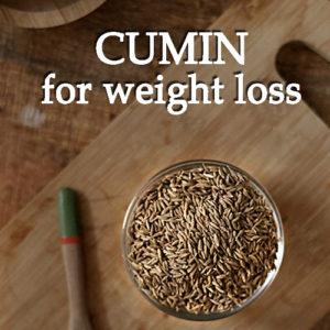 Cumin weight loss