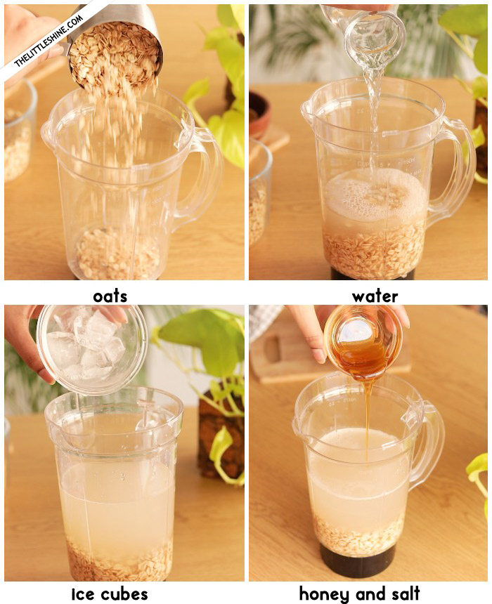 OAT MILK RECIPE that is not slimy with benefits