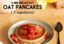 3 INGREDIENT OATS PANCAKES