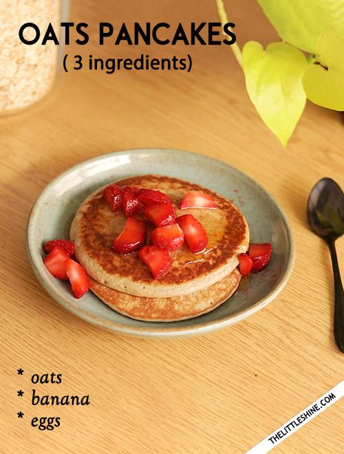 Oats Pancakes -