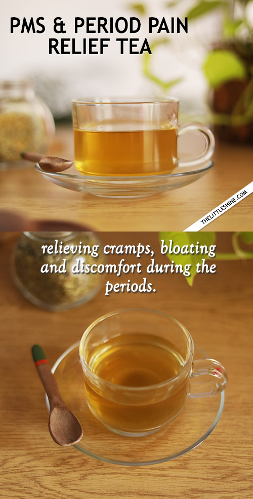 PMS and Period Pain relief tea recipe