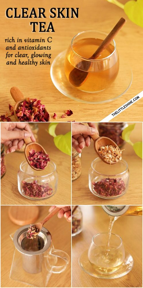 CLEAR SKIN TEA RECIPE - healthy skin from within