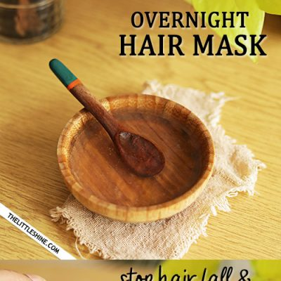 Overnight hair mask to stop hair fall
