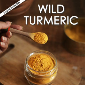How to use wild turmeric for clear, healthy, and glowing skin