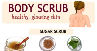 BODY SCRUBS FOR HEALTHY AND GLOWING SKIN