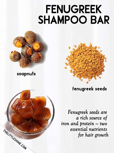 Fenugreek shampoo -
