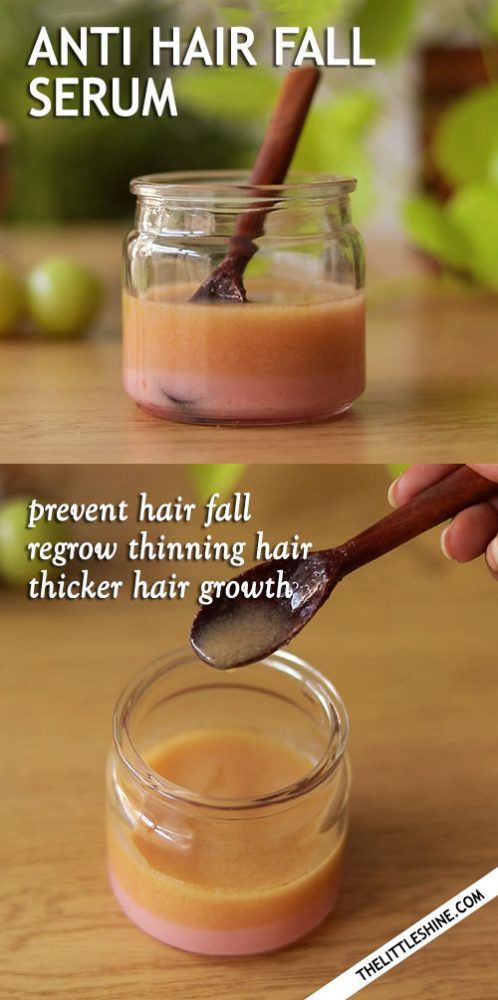 MIRACLE HAIR SERUM to stop hair fall and regrow thinning hair
