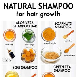 DIY SHAMPOO RECIPES for hair growth