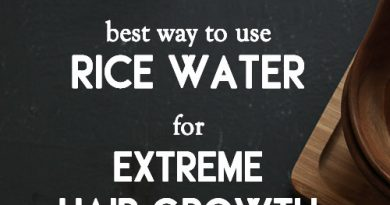 RICE WATER for extreme hair growth