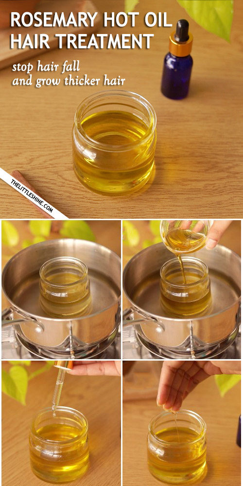 ROSEMARY HOT OIL HAIR TREATMENT