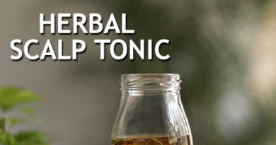 OVERNIGHT HERBAL SCALP TONIC for faster hair growth