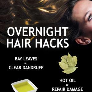 Overnight Hair Hacks