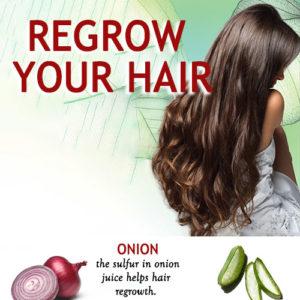 NATURAL WAYS TO REGROW YOUR HAIR