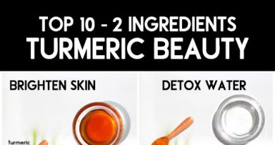 Top 10 - 2 INGREDIENT TURMERIC BEAUTY REMEDIES for clear, healthy, and flawless skin