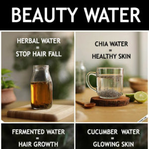 BEAUTY WATER RECIPES