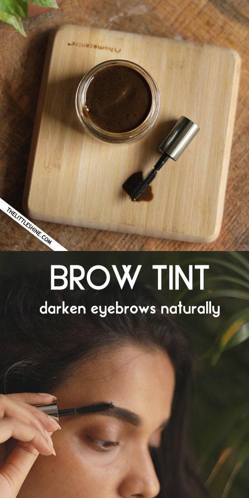 How To Make DIY Eyebrow Tint At Home