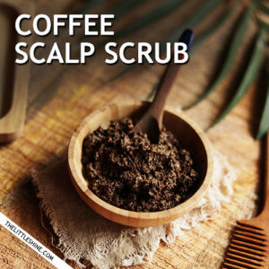COFFEE SCALP SCRUB - remove dead skin and stimulate scalp