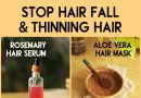 Stop hair fall and thinning hair with natural products