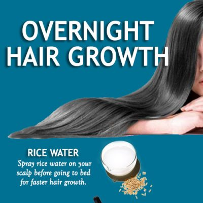 Overnight hair growth natural treatments