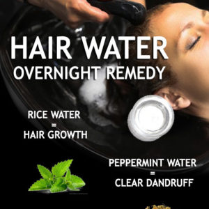 Overnight Hair Water Treatments