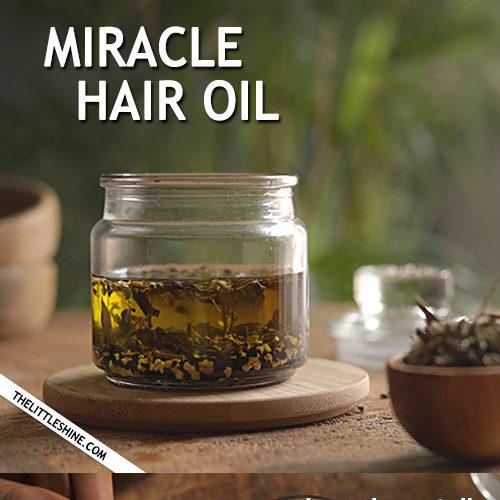 MIRACLE HAIR GROWTH OIL
