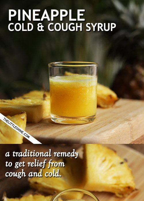 Pineapple Cough Syrup Recipes