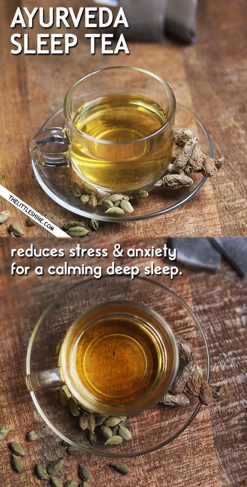 Ayurveda Sleep-Inducing Tea for deep sleep