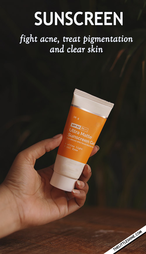 Sunscreen: A Wonder Skincare Ingredient for clear skin