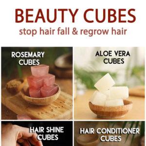 HAIR CUBES stop hair fall and grow thicker hair