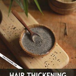 BLACK SEEDS HAIR THICKENING MASK