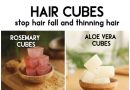 HAIR CUBES stop hair fall and grow thicker hair