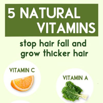 5 best vitamins for faster and thicker hair growth