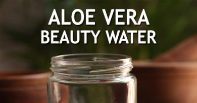 ALOE VERA BEAUTY WATER to clear acne and stop hair fall