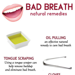 Stop bad breath with these remedies