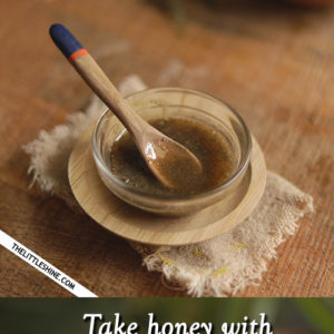 Honey with pepper to treat cough and cold