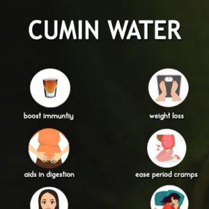 Cumin water recipe and its benefits