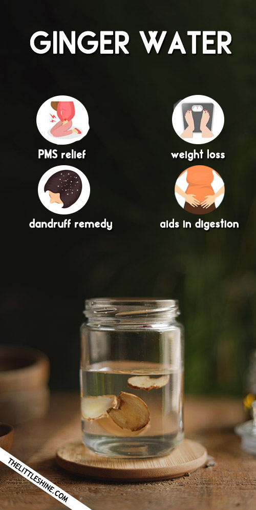 Ginger Water: Recipe And Benefits